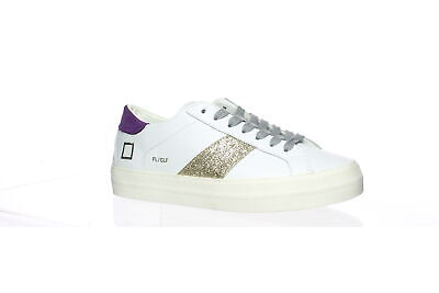 D.A.T.E. Womens Flair White Fashion Sneaker Size 5 (1574300)