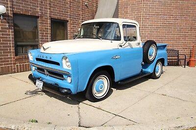 1957 Dodge Pickup - V8 - RARE Push Button Automatic - Frame Off 1957 Dodge Pickup push button rare Chevy Ford 1953 1954 1956 1952 1952 truck