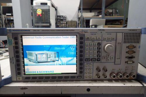 Rohde & Schwarz CMU 200-1100.0008.02 SN 113749