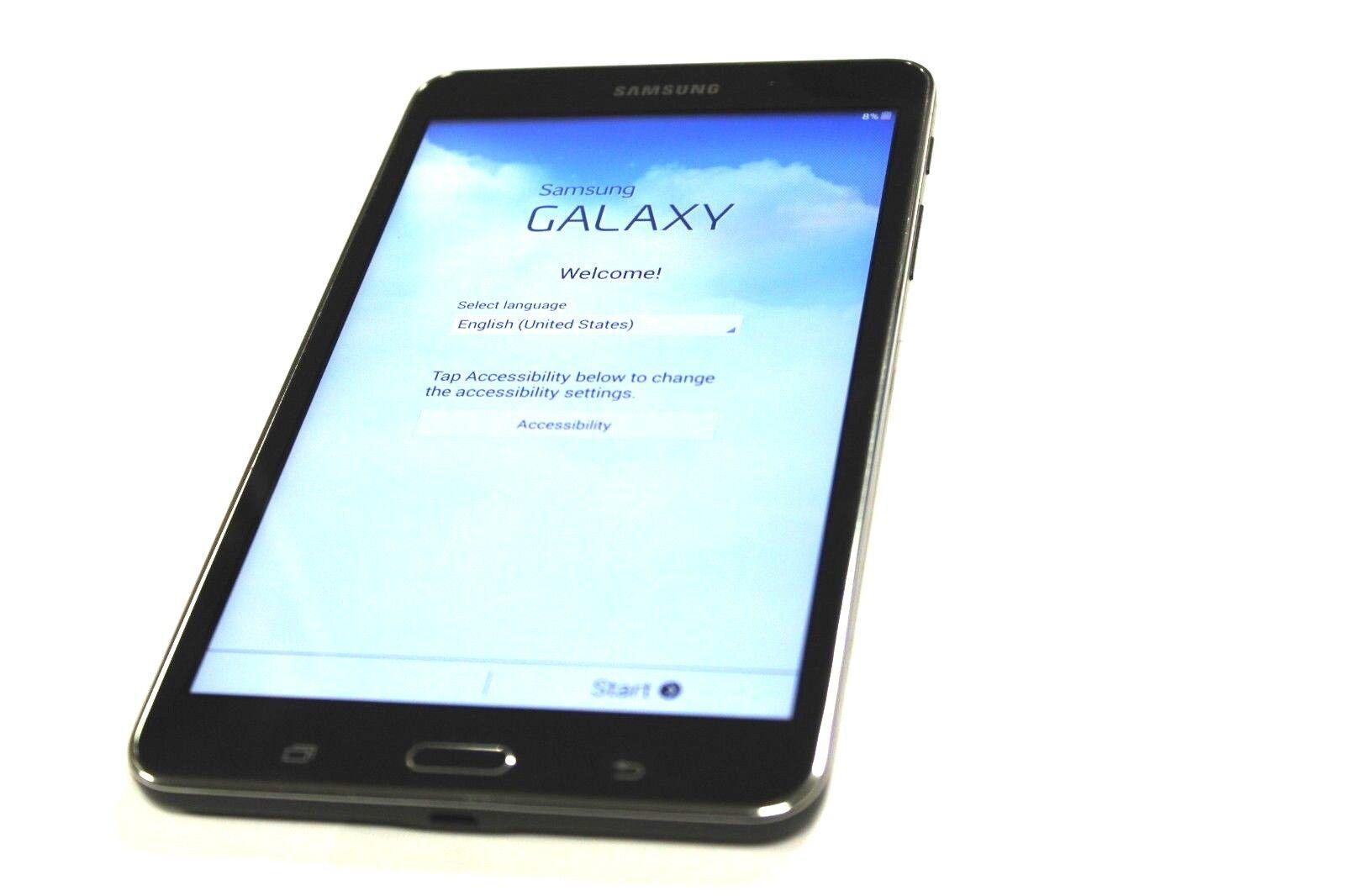 "SAMSUNG Galaxy Tab 4 Nook Edition 7"" 8GB Wi-Fi Tablet SM-T230NU - Black"