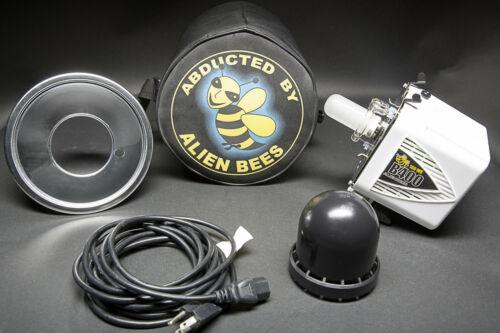 Paul C. Buff AlienBees B400 Star White Studio Complete Kit w Case, FREE SHIP!!!