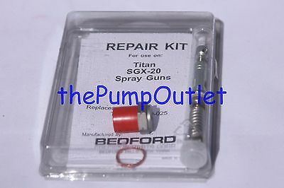 Quality Aftermarket Titan Sgx-20 Spray Gun Repair Kit 520-025 520025 Made In Usa
