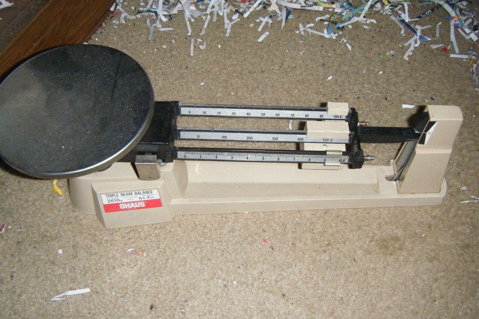 ohaus triple beam balance 700 800 series manual