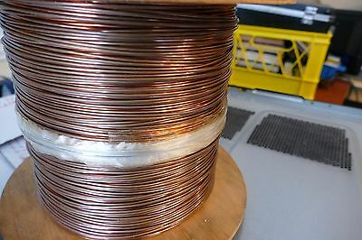 New 12 Awg Solid Bare Copper Single Hard-drawn Wire 1500 Ft 32 Lb. Spool