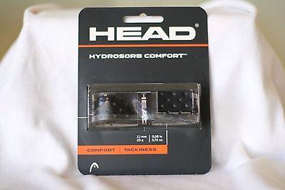 HEAD REPLACEMENT GRIP HYDROSORB COMFORT  BLACK, TENNIS, ONE SET