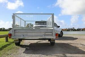 Heavy Duty Gal 6x4 with Rego, 600mm Cage, Spare, Tilt
