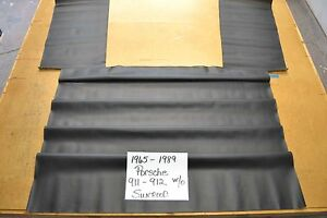 1965 - 1989 PORSCHE 911 912 BLACK HEADLINER USA MADE TOP QUALITY WITHOUT SUNROOF