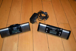 2x iHome iP16 and IH16 Portable Speaker System iPod iPhone Dock Charge Station