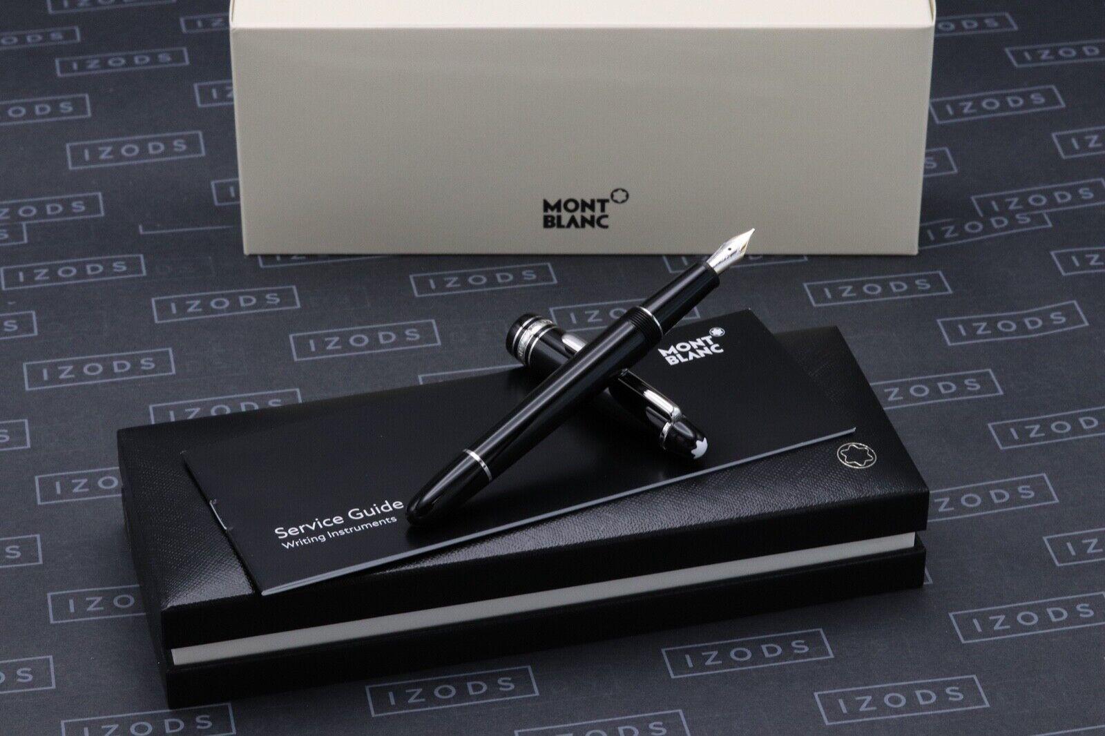Montblanc Meisterstuck Classique Platinum Line Fountain Pen - UNUSED