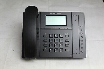 Fortinet Fon-360i Ip Business Office Phone W Handset And Stand