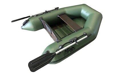 FISH 180 grün Schlauchboot mit Lattenboden, 1100 Dtex