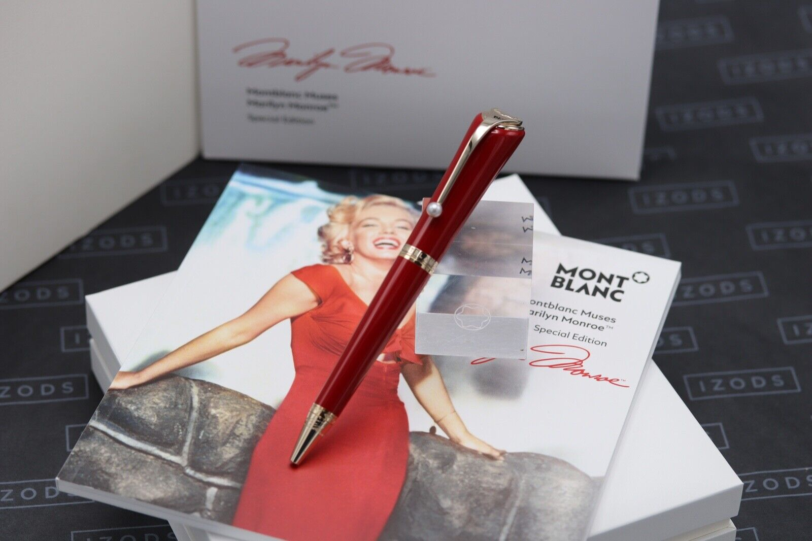 Montblanc Muses Edition Marilyn Monroe Red Ballpoint Pen - NEW MARCH 21