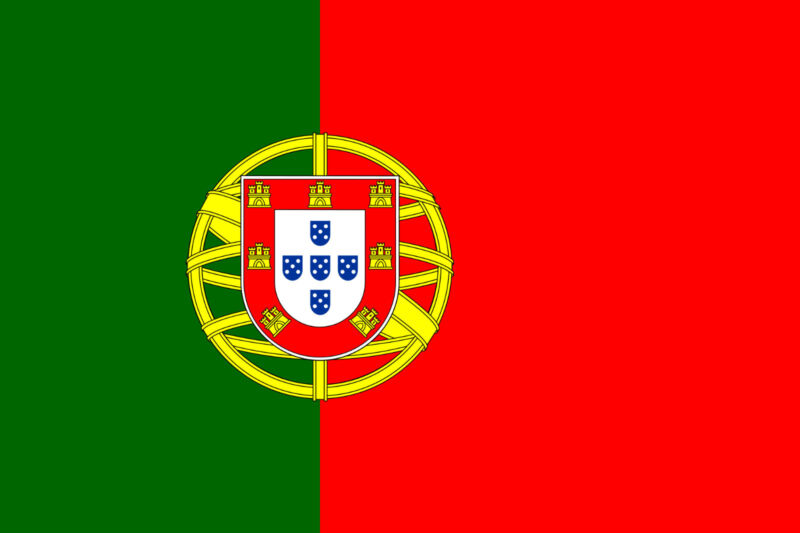 Portugal National Flag 5x3ft Portuguese Nation Country Flag