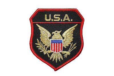 USA Eagle Goldlurex Insignia Patch