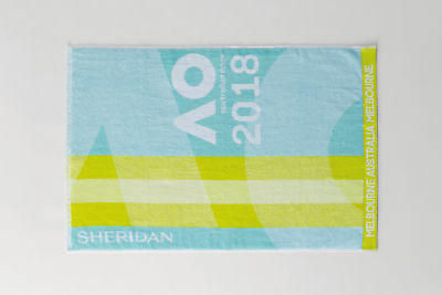 Australian Open 2018 Ladies Tennis Handtuch Gym Towel Rarität