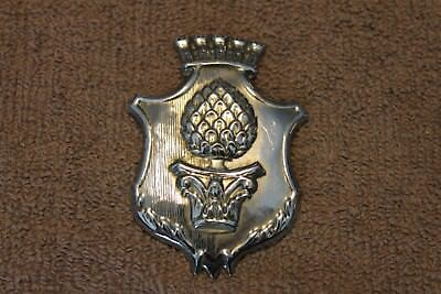 "Original WW2 British Army ''Welsh Guards"" Metal Cap Badge, Large Size, VG"