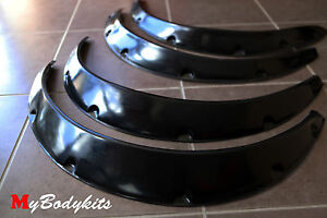 Toyota MR-2  AW-11 WHEELS ARCH FENDER GUARDS WIDE FLARE FRONT AND REAR SET