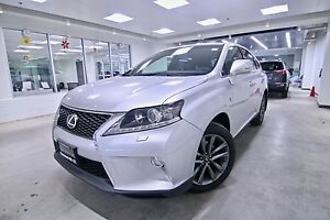 2014 Lexus RX 350  AWD F SPORT, ONE OWNER, CLEAN CARPROOF, NON S