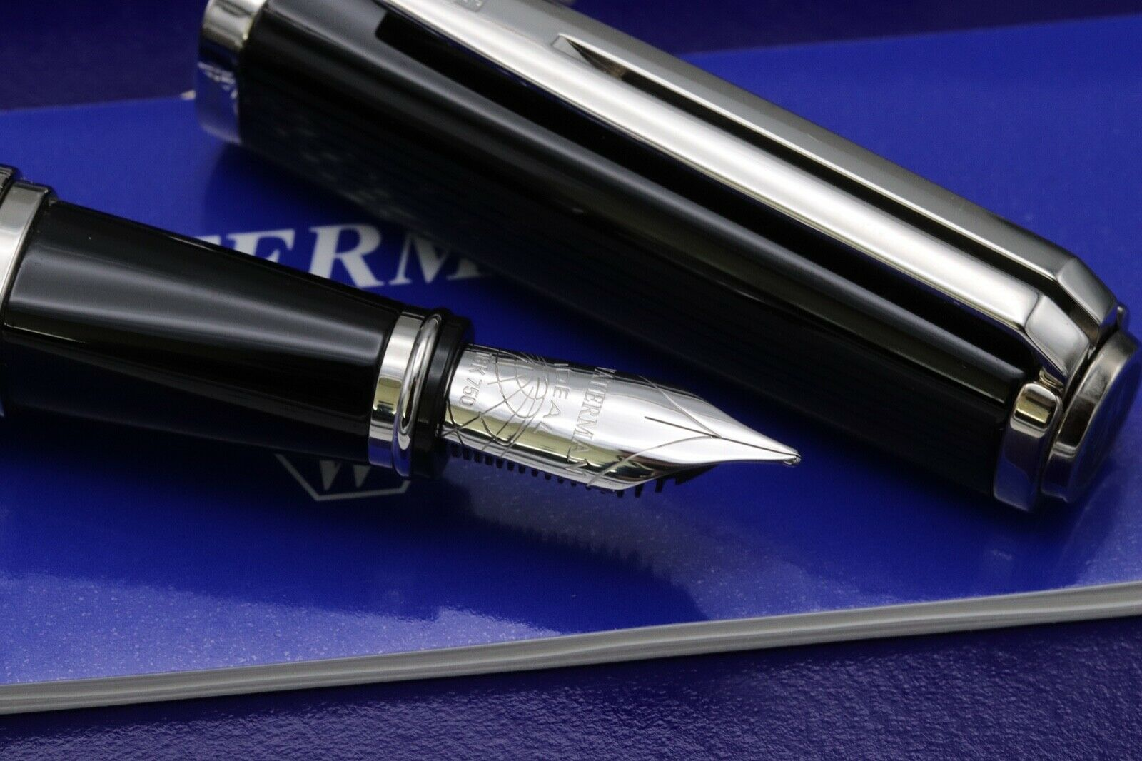 Waterman Exception Night and Day Black Fountain Pen 3