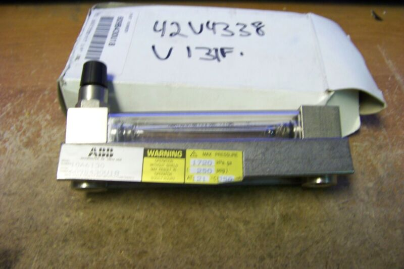 NEW ABB 10A6130 Flow Meter 250PSIG MAX UP TO 30 FLOW