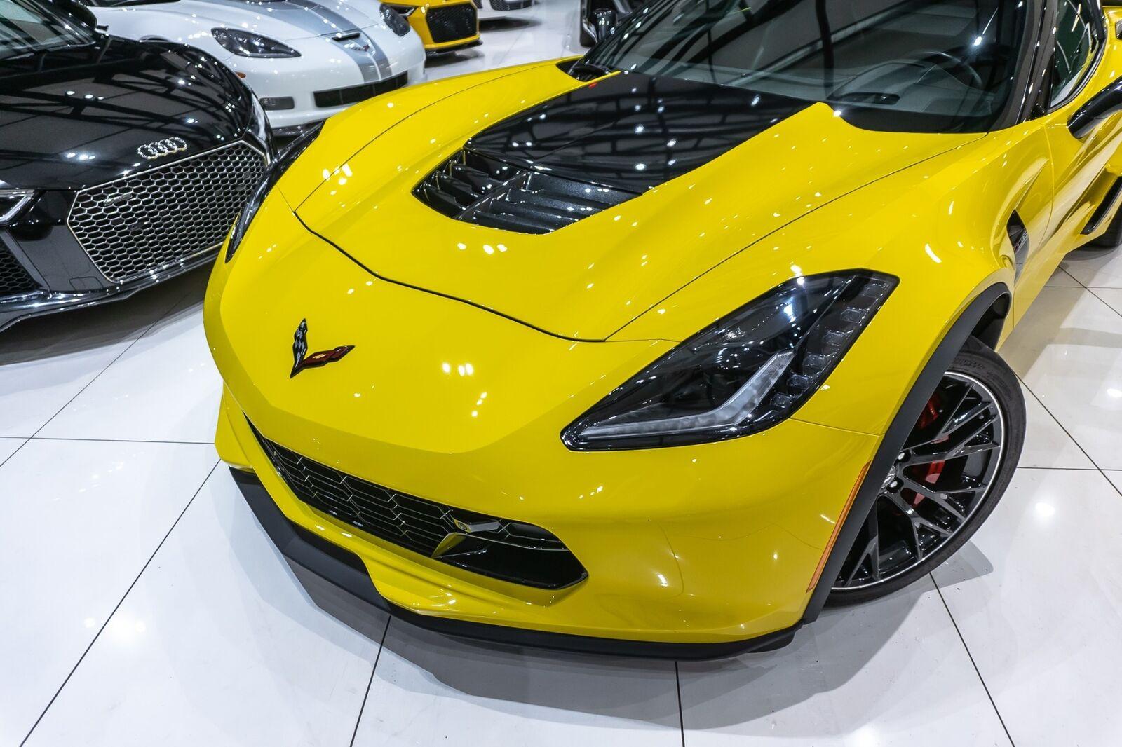 2016 Yellow Chevrolet Corvette Coupe 2LZ   C7 Corvette Photo 5