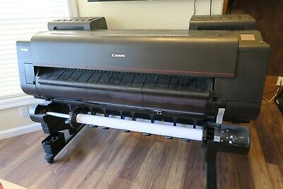 Canon Imageprograf Pro-4000 44 Wide Format Poster Printer Plotter W2nd Roll