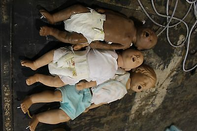 Laerdal Baby Anne Lot Of 3 Infants