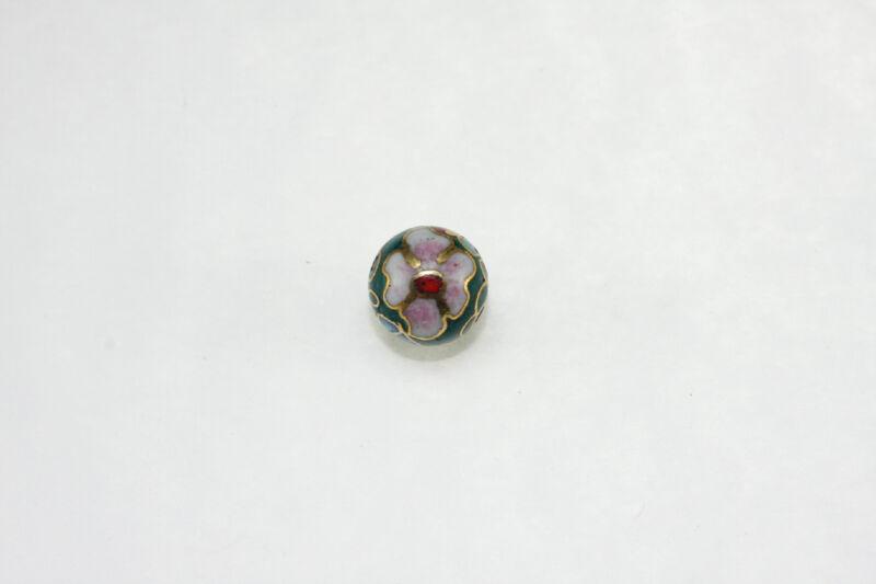 Oriental Cloisonne Beads Loose 10mm