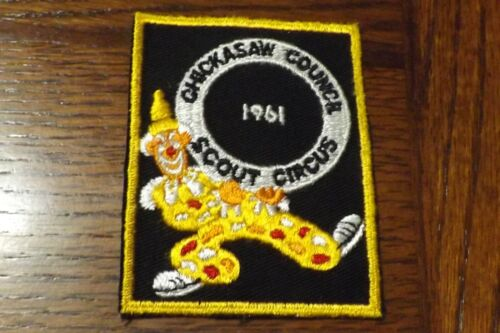 BOY SCOUT PATCH 1961 CHICKASAW COUNCIL