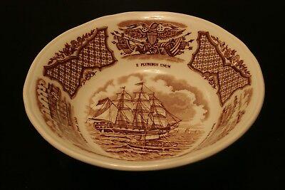 Vintage Alfred Meakin Fair Winds STAFFORDSHIRE England Fruit Bowl
