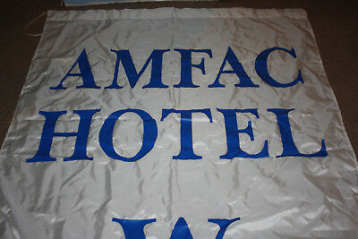 Vintage 1985 MLB All Star Game MASSIVE Banner Hung in Amfac Hotel Minneapolis