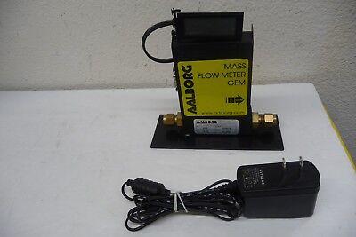 Aalborg Mass Flow Meter Gfm Gfm17 Gfms-010601 With Power Adaptor