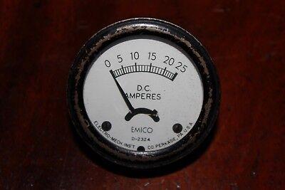 Vintage Emico D-2324 Panel D.c. Amp.meter