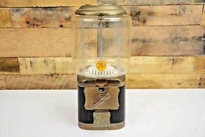 Vendworx 25 Cent Candy Peanut Gumball Coin Op Vending Machine No Key Nice 3
