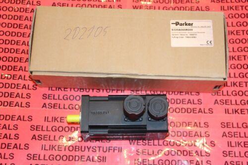 Parker S320A060R000 AC Servo Motor 6000 RPM New