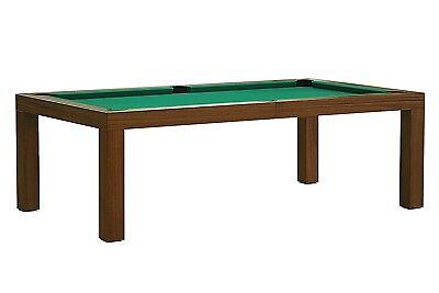 POOL Billard MOZART 7 ft Billardtisch Ess- und Billiardtisch Schieferplatte