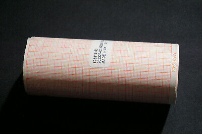 Physio-control 100mm Printer Paper - 1 Roll- Gridded - For Lifepak 12 15