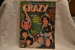Crazy magazine 1978 Marvel Mad Cracked related