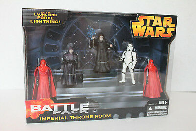 2005 Hasbro Star Wars Battle Pack Imperial Throne Room NIB