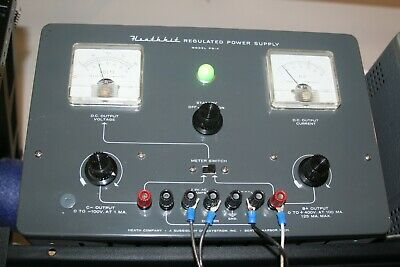 Heathkit High Voltage Power Supply Working