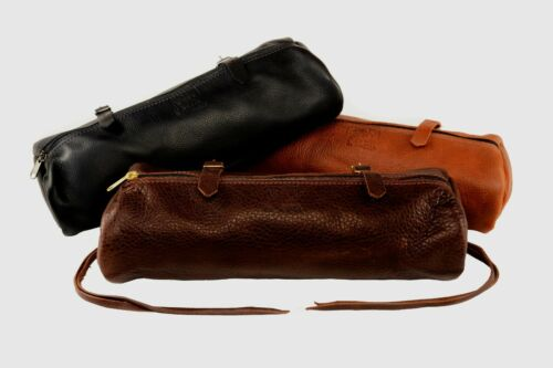 OLDE TIME SADDLE BAGS™ Horse Leather Cantle Bag - Tucker / Circle Y
