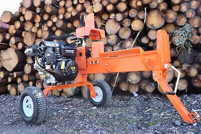 12 ton Venom Hydraulic log wood  splitter petrol briggs and Stratton portable  - Ton Hydraulic Log Splitter