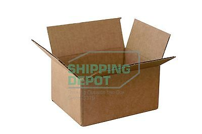 10 8x6x4 Cardboard Shipping Mailing Moving Packing Corrugated Boxes Cartons