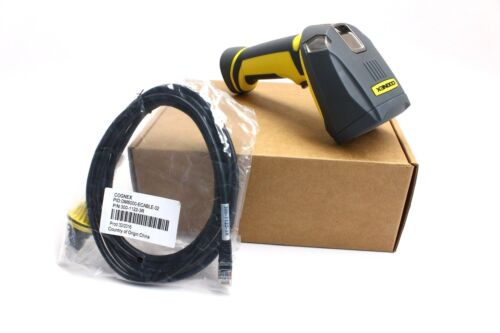 Cognex Dm8500 W/ Cable And Ethernet Module Installed 8500 Dataman Scanner