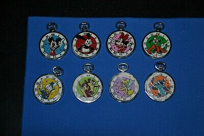 Disney PWP Pocket Watch Pin Set INCLUDES COMPLETE 8 PIN SET!