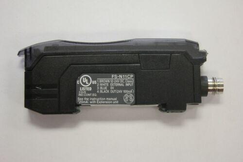 Keyence FS-N11CP Fiber Optic Amplifier