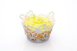 Kitchen-Craft-Paquete-12-Decoracion-De-Cupcakes-Envolturas-Envoltorios-Mariposa