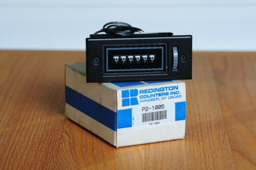 Redington Counters Inc., Resettable 6-Digit Electromechanical Counter  P2-1006