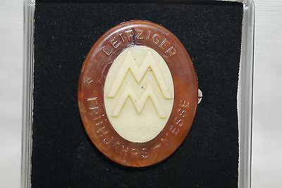 Abzeichen Pin Anstecknadel Leipziger Frühjahrsmesse 1936 Kunststoff
