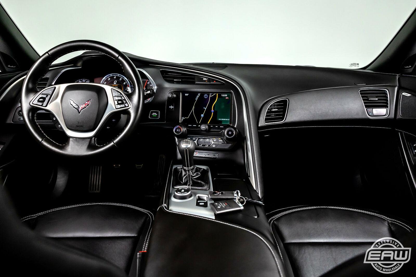 2014 Black Chevrolet Corvette Coupe 1LT | C7 Corvette Photo 2